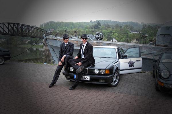Oldtimerrallye Bluesbrothers Bluesmobil