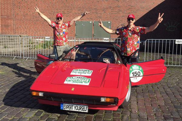 Oldtimer Rallye Ferrari Magnum